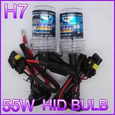 h7 car hid xenon lamp light bulb 35w 55w car headlight 4300k 5000k