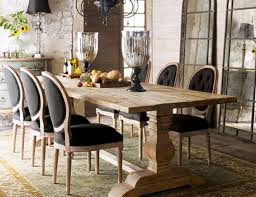 Rustic Farmhouse Dining Table And Chairs Likeable Wonderful Farmhouse Dining Room Table Chairs Small Study