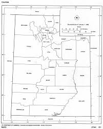 Usa Map With Names by Utah Outline Maps And Map Links