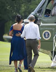 michelle obama u0027s dress on vacation in martha u0027s vineyard 2016