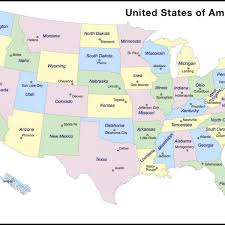map of united states showing states and cities map of usa showing states map of usa