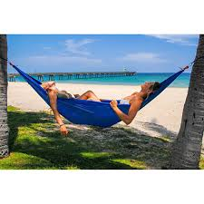 buy sport force portable two person nylon hammock by consumer