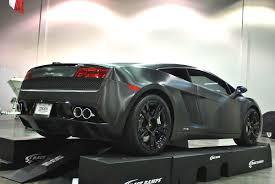 Lamborghini Gallardo Black - transforming a lamborghini gallardo with black brushed metal vinyl