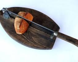 cutter de cuisine vintages français cutter trancheuse baguette de bois planche à