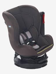 siège auto bébé pivotant siège auto pivotant vertbaudet rotasit groupe 0 1 gris foncé