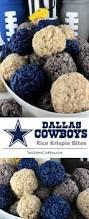 cowboys on thanksgiving dallas cowboys rice krispie bites two sisters crafting