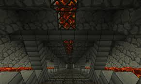 Minecraft Project Ideas Lava Lit Staircase Minecraft Project Ideas Pinterest