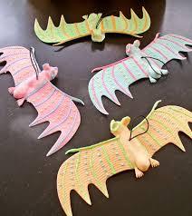 Glow In The Dark Halloween Decorations Diy by Easy Glow In The Dark Bat Mobile For Halloween Hometalk