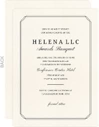 formal invitations business party invitations