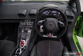 suv lamborghini interior 2016 lamborghini huracan spyder review video performancedrive