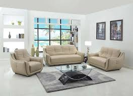 Small Contemporary Sofa by Furniture Home Modern Sofa Leather Beige Elegant Joe Bsofa