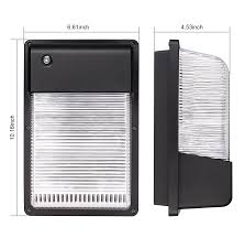 outdoor led photocell lights 16w 25w dusk to dawn led wall pack photocell outdoor led wall mount