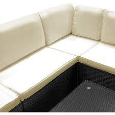rattan corner sofa poly rattan corner sofa table set stuffy black modular