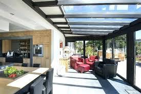 veranda cuisine prix cuisine s veranda extension bois idées pour la maison