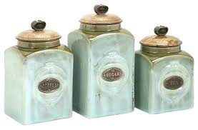 green canister sets kitchen kitchen canisters ceramic sets kitchen decoration ideas