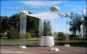 chuppah for sale modern chuppah rental miami acrylic wedding canopy marriott harbor