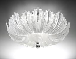 nella vetrina italamp 74 65 modern ceiling light in etched glass
