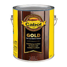 shop cabot gold moonlit mahogany transparent exterior stain