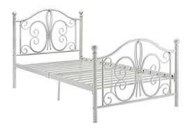 amazon com dhp bombay metal bed frame vintage design and