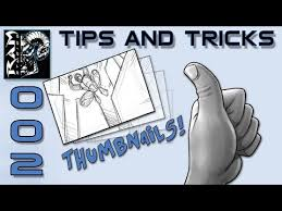 how to draw comics tips and tricks 002 better thumbnails youtube