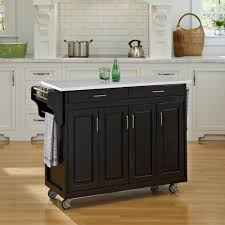 origami 4 drawer kitchen cart in white dfs 04 the home depot