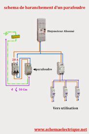 Schema Contacteur Heure Creuse by Schema Electrique Branchement Cablage