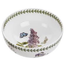 portmeirion botanic garden seconds 5 5 inch rimless bowl set of 6