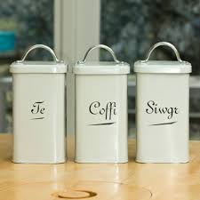 photos of decorative kitchen canisters