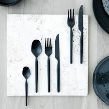 dorotea night 20 piece set mod flatware touch of modern
