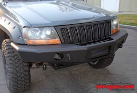 jeep aftermarket bumpers trail ready jeep grand wj front bumper install road com