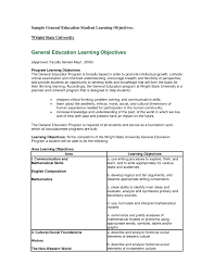 Samples Of Objectives In Resume by Download General Resume Objectives Haadyaooverbayresort Com
