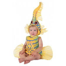 infant costume geddes yellow goby fish baby infant costume baby 18 24