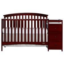 Simonscans Nico - dream on me niko 5 in 1 convertible crib with changer cherry