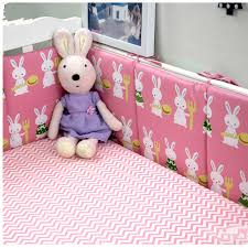 online get cheap pink crib bumpers aliexpress com alibaba group