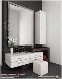 Bedroom Mirror Designs Futuristic Dressing Table Design With Square Wall Mirror Also