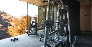 celebrity home gyms celebrity homes michael bay los angeles home celebrity homes
