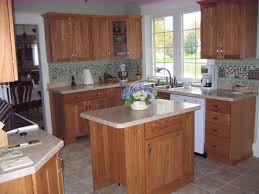 remodel here s the kitchen with the island in place it is portable and rides on locking casters the centerpiece was borrowed from the dining room