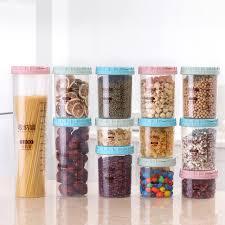bocaux de cuisine alimentaire pvc de stockage bocaux de bonbons bocal cuisine de