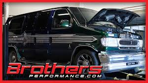 1998 ford econoline van 4 6l cobra dohc engine dyno test at