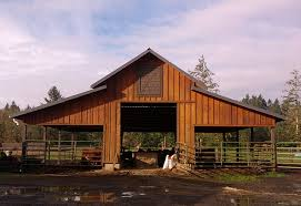 How To Build A Pole Barn Cheap Greg Stallings Construction Eugene Or U2013 Pole Barn Horse Stable
