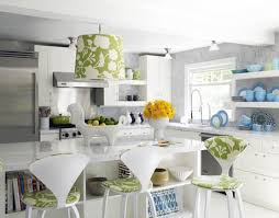 green white kitchen green and white kitchen with brass accents design ideas