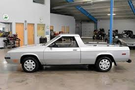 1980s dodge cars the plymouth sc and dodge rage were compact el caminos