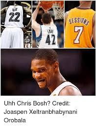 Chris Bosh Meme - gay 22 ses 12 love s uhh chris bosh credit joaspen xeltranbhabynani