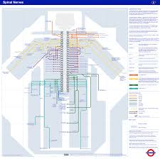 London Subway Map by London Underground Map Technology And Innovation In Learning Team