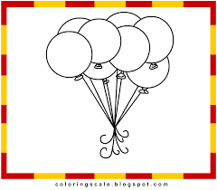 coloring pages printable for kids balloons coloring pages for kids