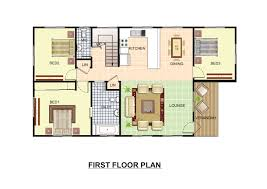 Simple Floor Plan by Interesting Colored House Floor Plans Inside Design Inspiration