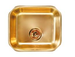Bronze Brass Kitchen Sink Undermount Alveus Monarch Variant - Brass kitchen sink