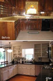 Outdated Kitchen Cabinets Darby U0026 Justin Rejuvenate An Outdated Kitchen U2014 Fly Through Our