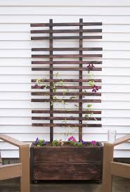 trellis plan planter with trellis plan u2013 outdoor decorations
