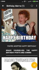 Happy Bday Meme - happy birthday meme apps on google play